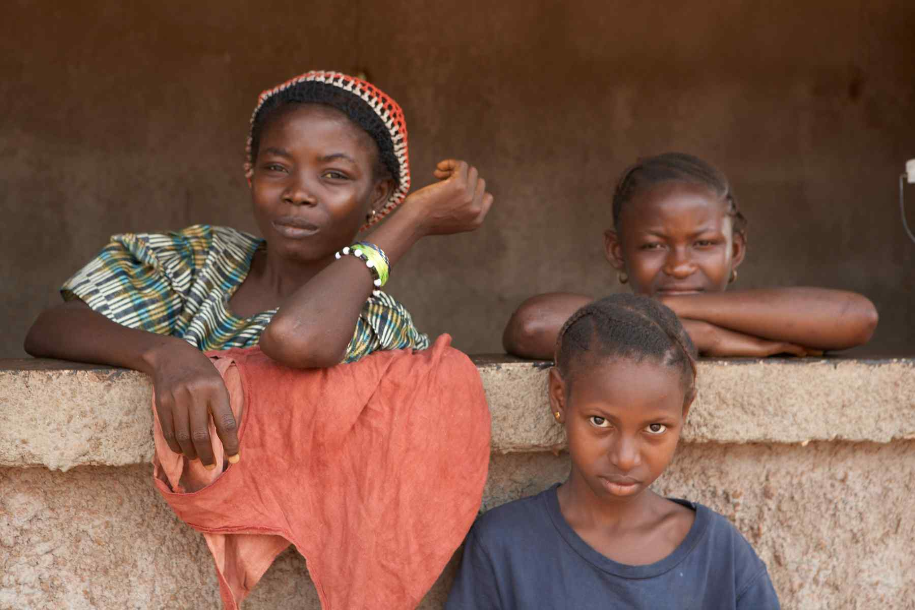 Children in Sierra Leone, Africa