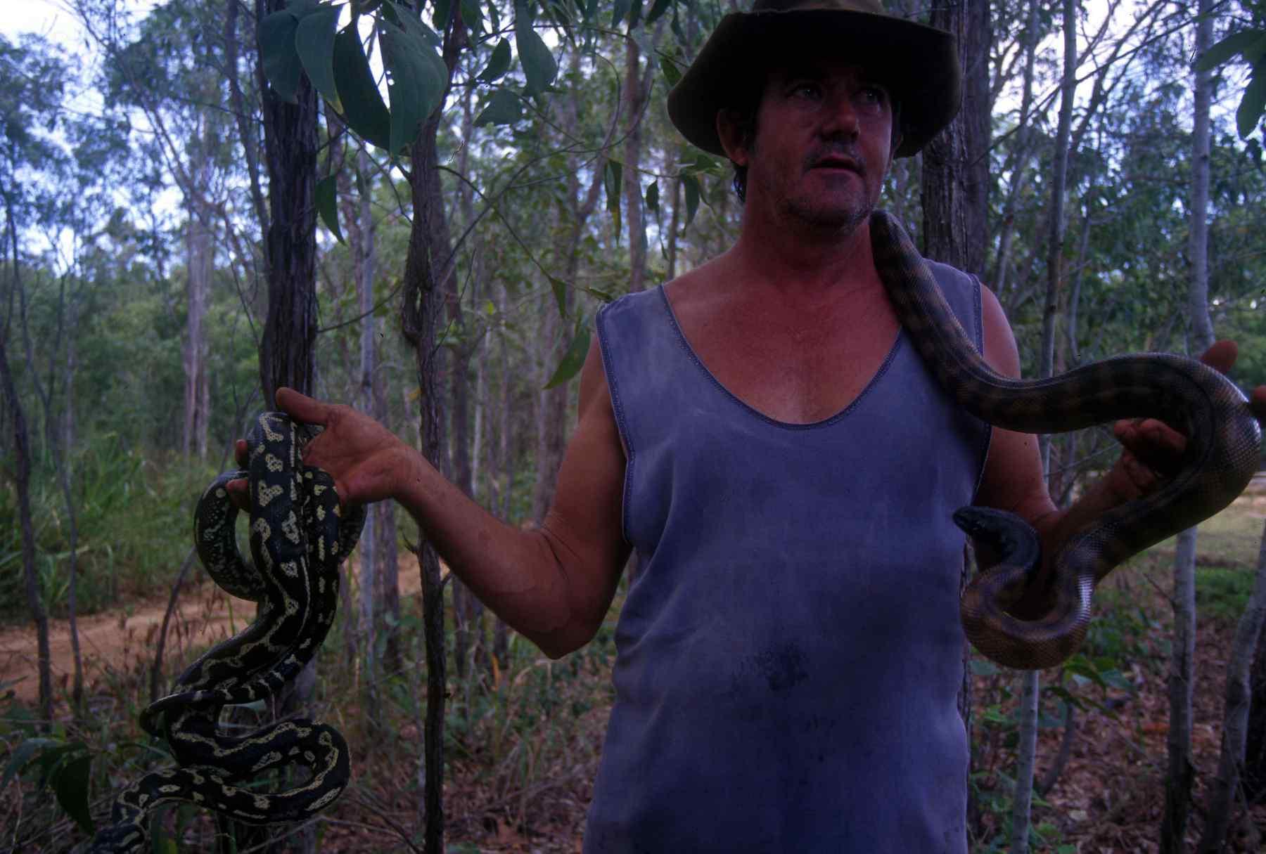 cape york snake man