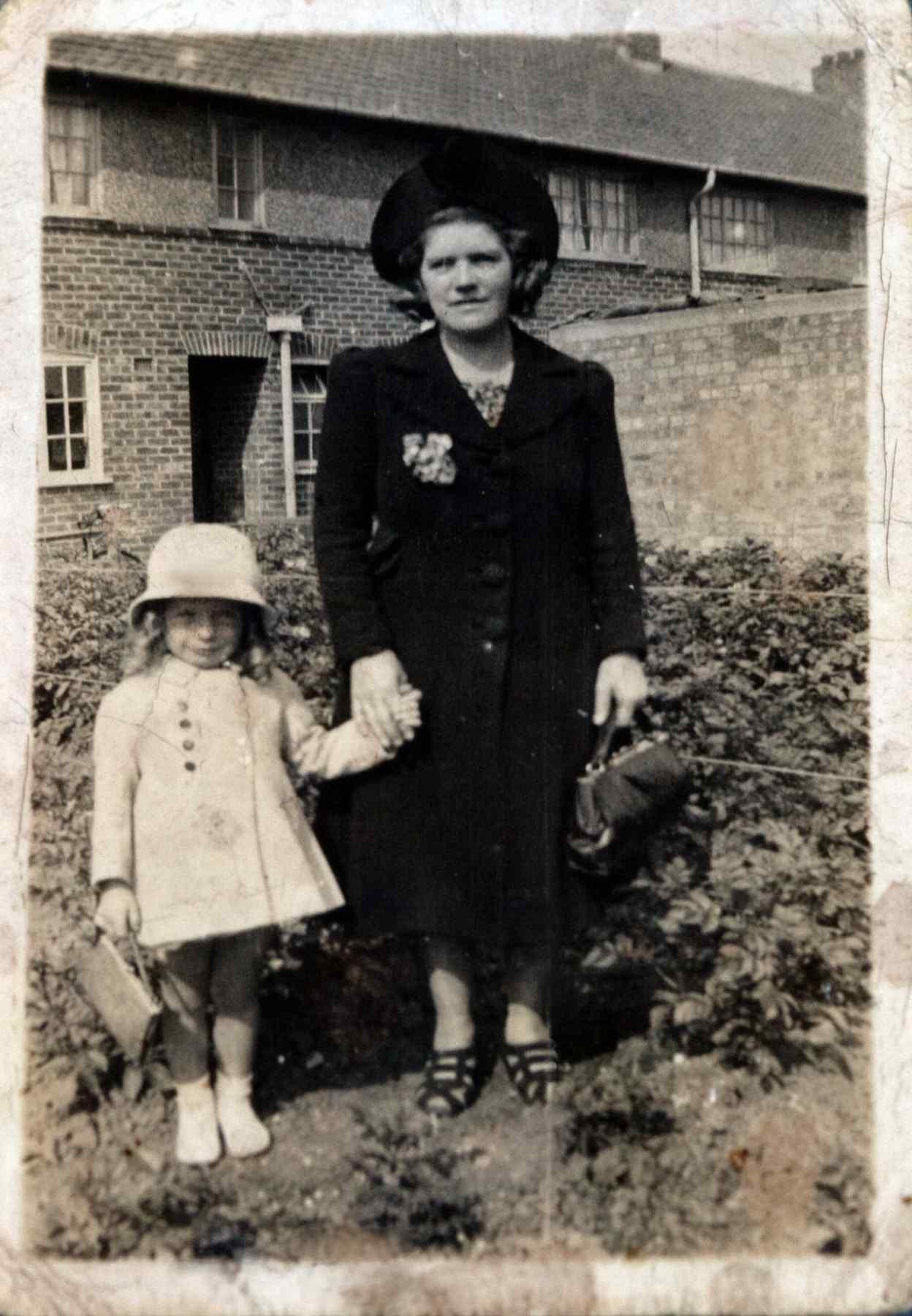 Olive May and Maureen